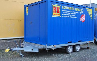 Nyutviklet containerhenger