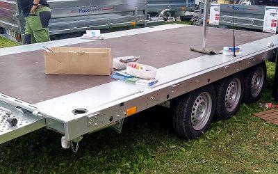 3-akslet containerhenger 12/14 fot